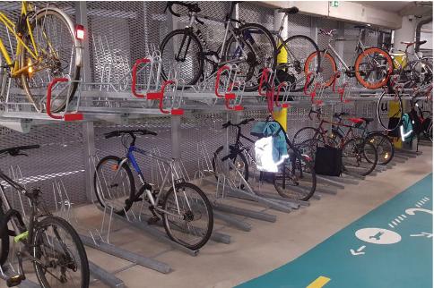 Parking à vélos intermodaux
