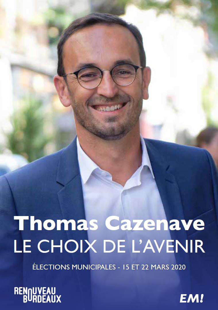 Programme Thomas Cazenave